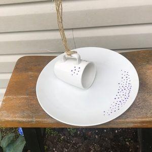 Hand made bird feeder